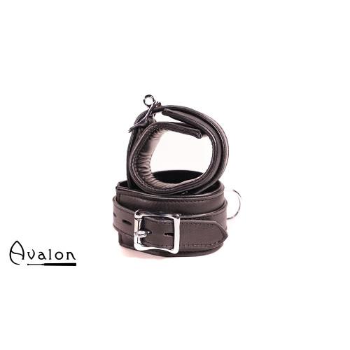 Avalon - CAPTURE - Håndcuffs i Svart Lær