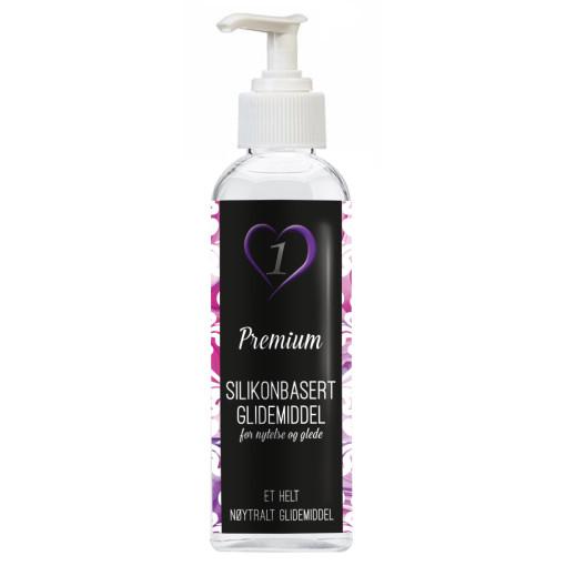 Premium - Silikonbasert Glidemiddel - 150ml