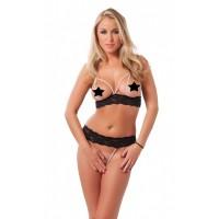 Amorable - Åpen Bikini med Perler