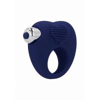 Simplicity - Aubin vibrerende penisring blå