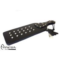 Avalon - BEAST- Massiv paddle med nagler - sort