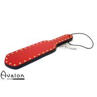 Avalon - SHIELD - Paddle i tre med nagler - Rød