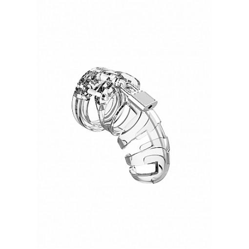 """Man Cage - Model 2 - Kuklås 3,5"""" Transparent"""