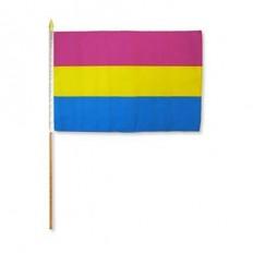 Pride flagg på pinne - Panfil