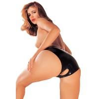 Sharon Sloane - Open Crotch Panty - Latex truse
